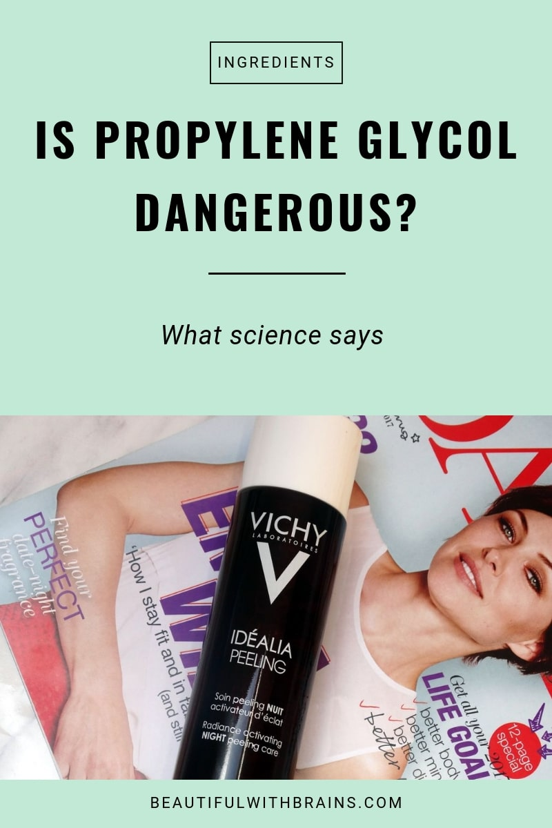 is propylene glycol in skincare dangerous