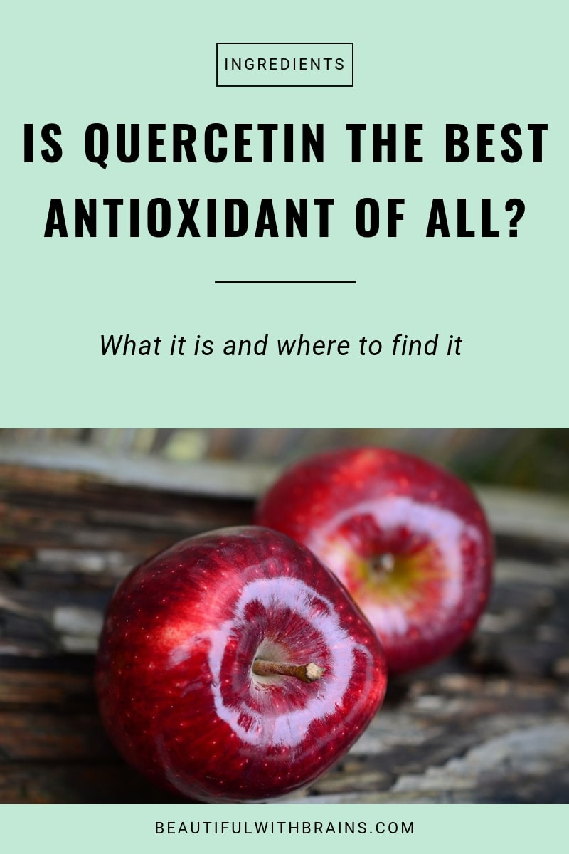 is quercetin an effective antioxidant