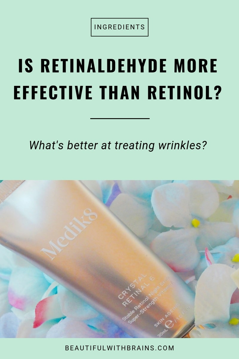 is retinaldehyde more effective than retinol