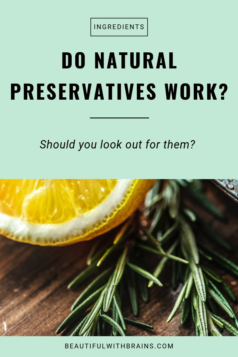 natural preservatives in skincare: are they really safer?