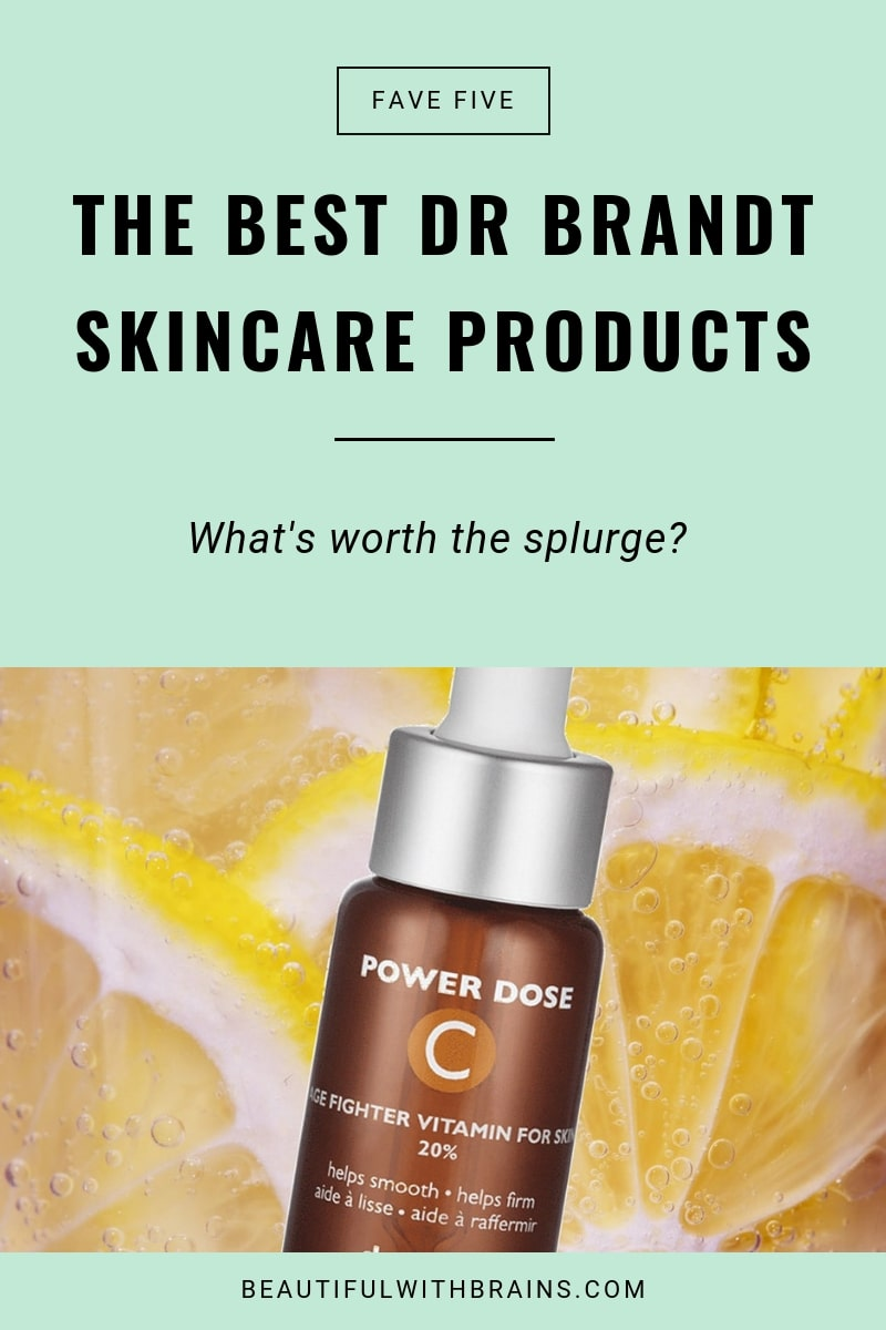 the best dr brandt skincare products