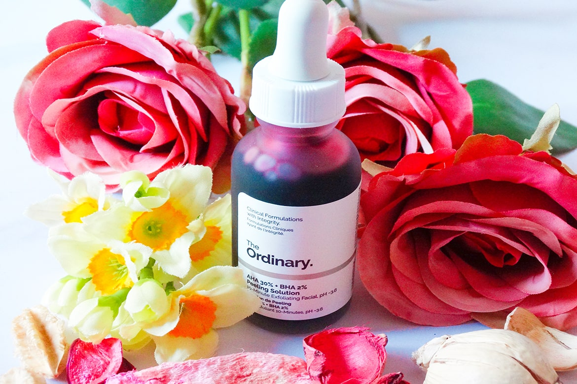 the ordinary aha 30% + BHA 2% Peeling Solution review 01