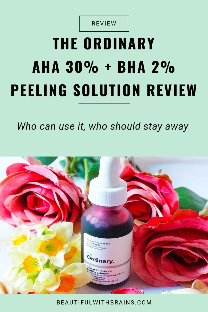 the ordinary aha 30% + bha 2% peeling solution review 03