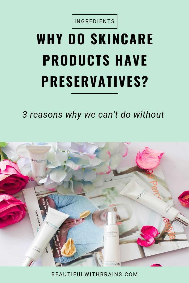 why preservatives are used in skincare products