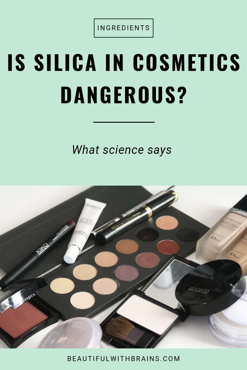 why silica in cosmetics is not dangerous