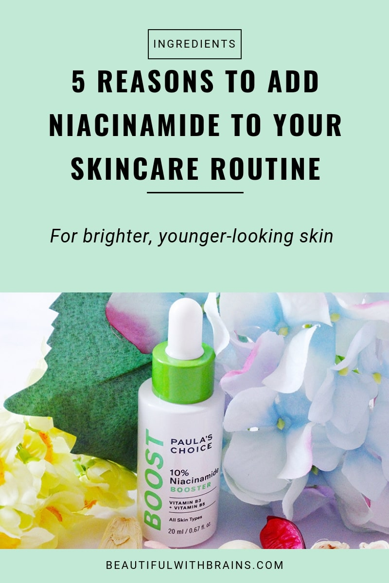 5 skincare benefits of niacinamide