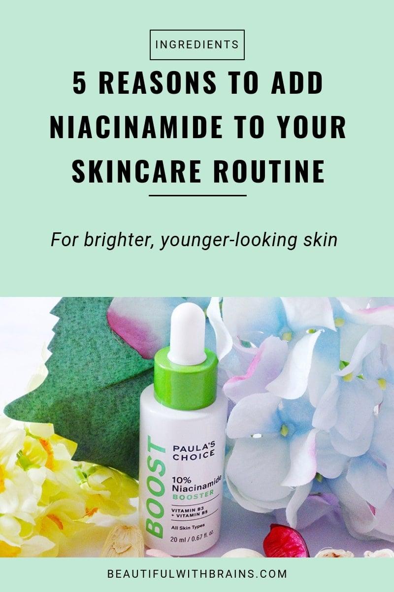 5 skincare benefits of niacinamide