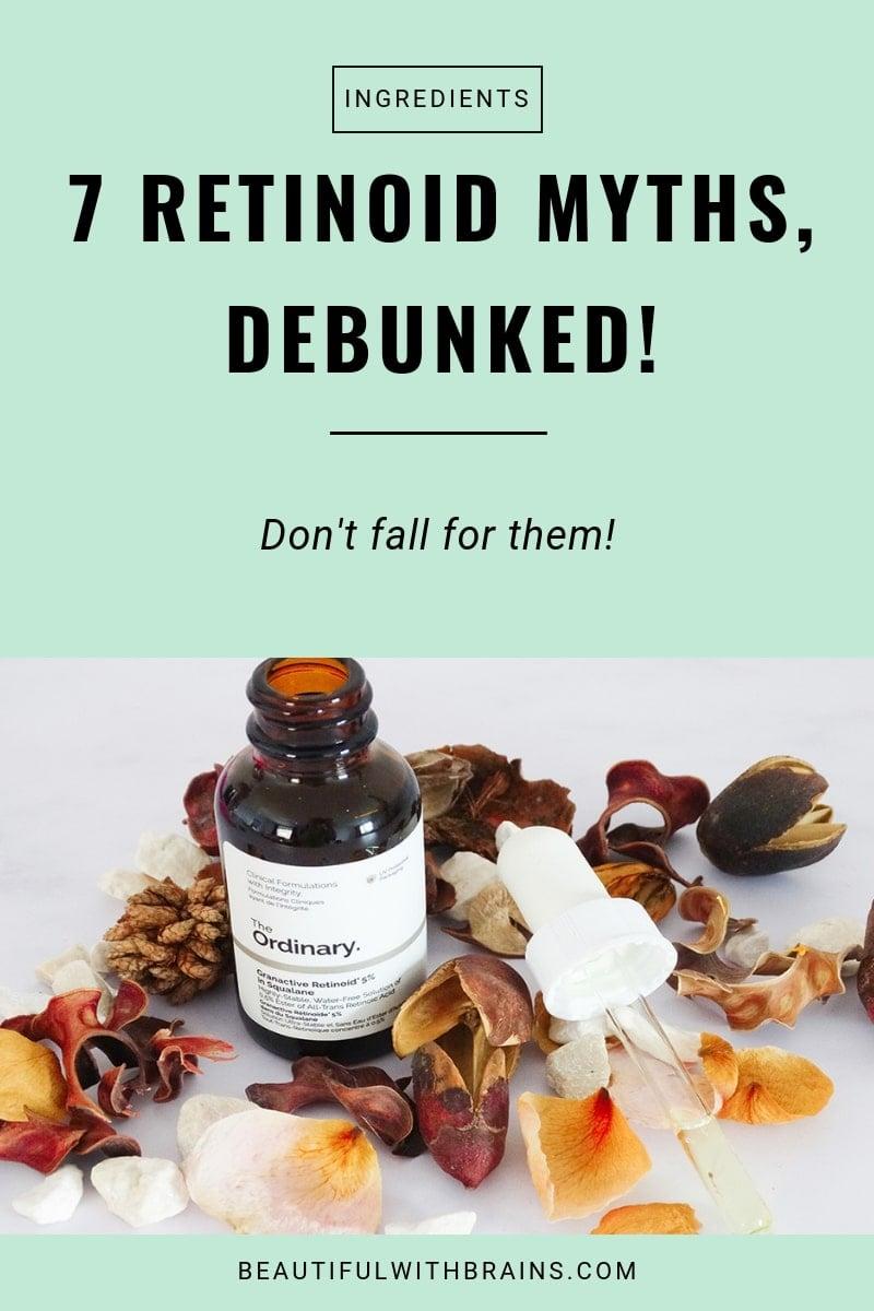 7 retinoid myths debunked