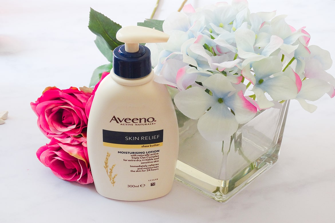 aveeno skin relief moisturising lotion with shea butter