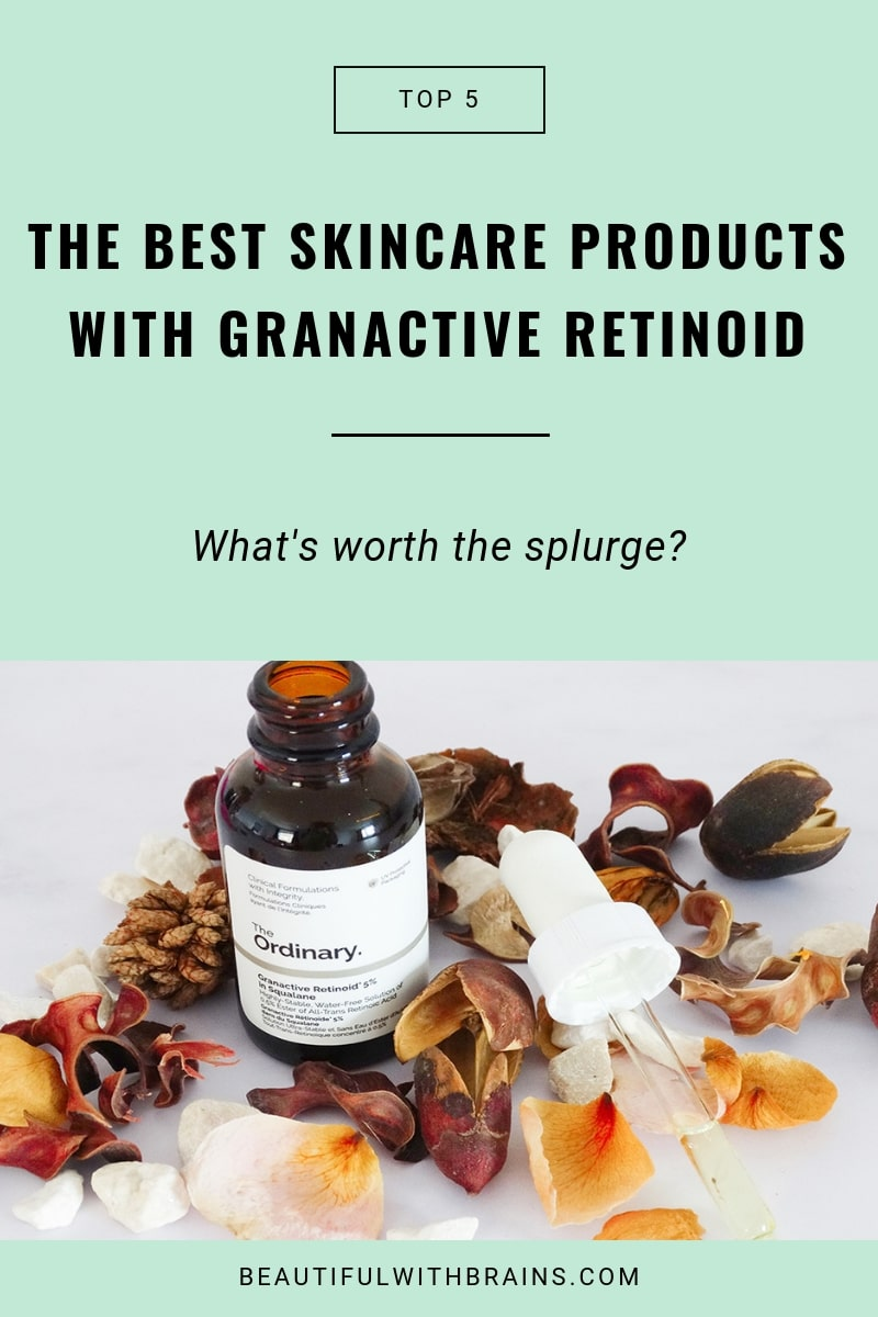best skincare products with granactive retinoid