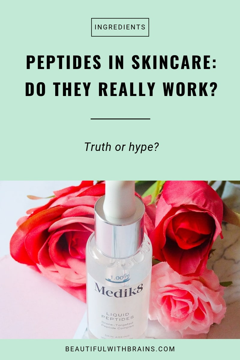 how peptides in skincare work