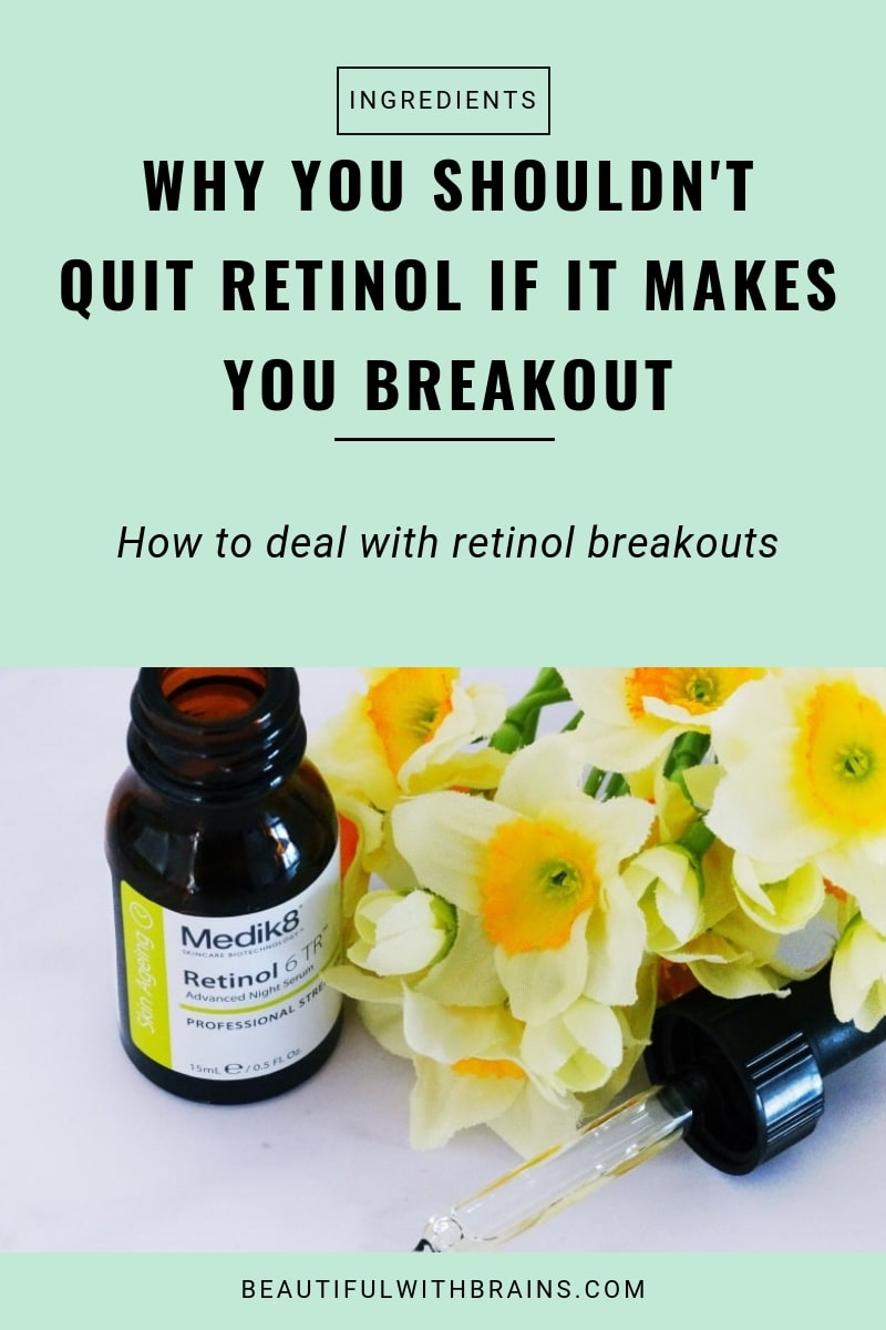 how to deal with retinol breakouts