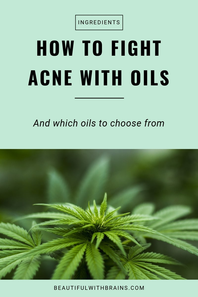 how to fight acne with oils high in linoleic acid