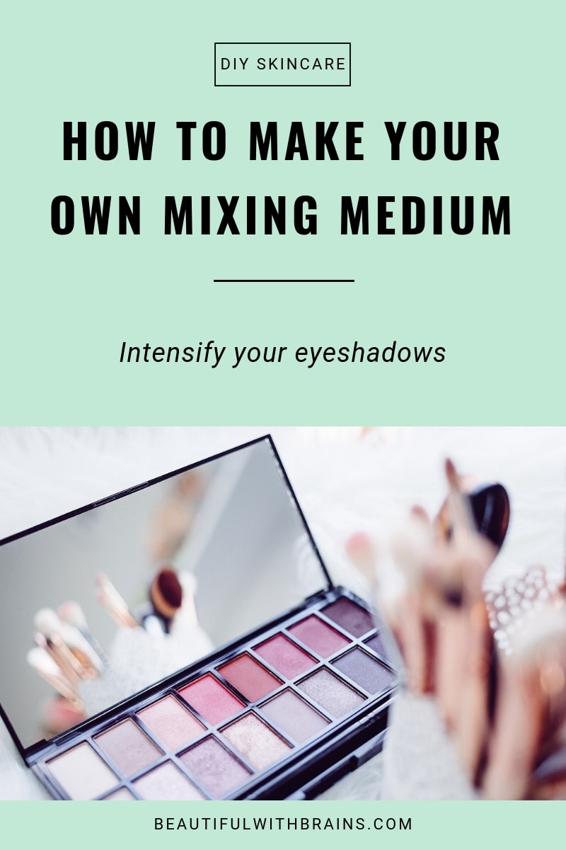how to make your own mixing medium tutorial