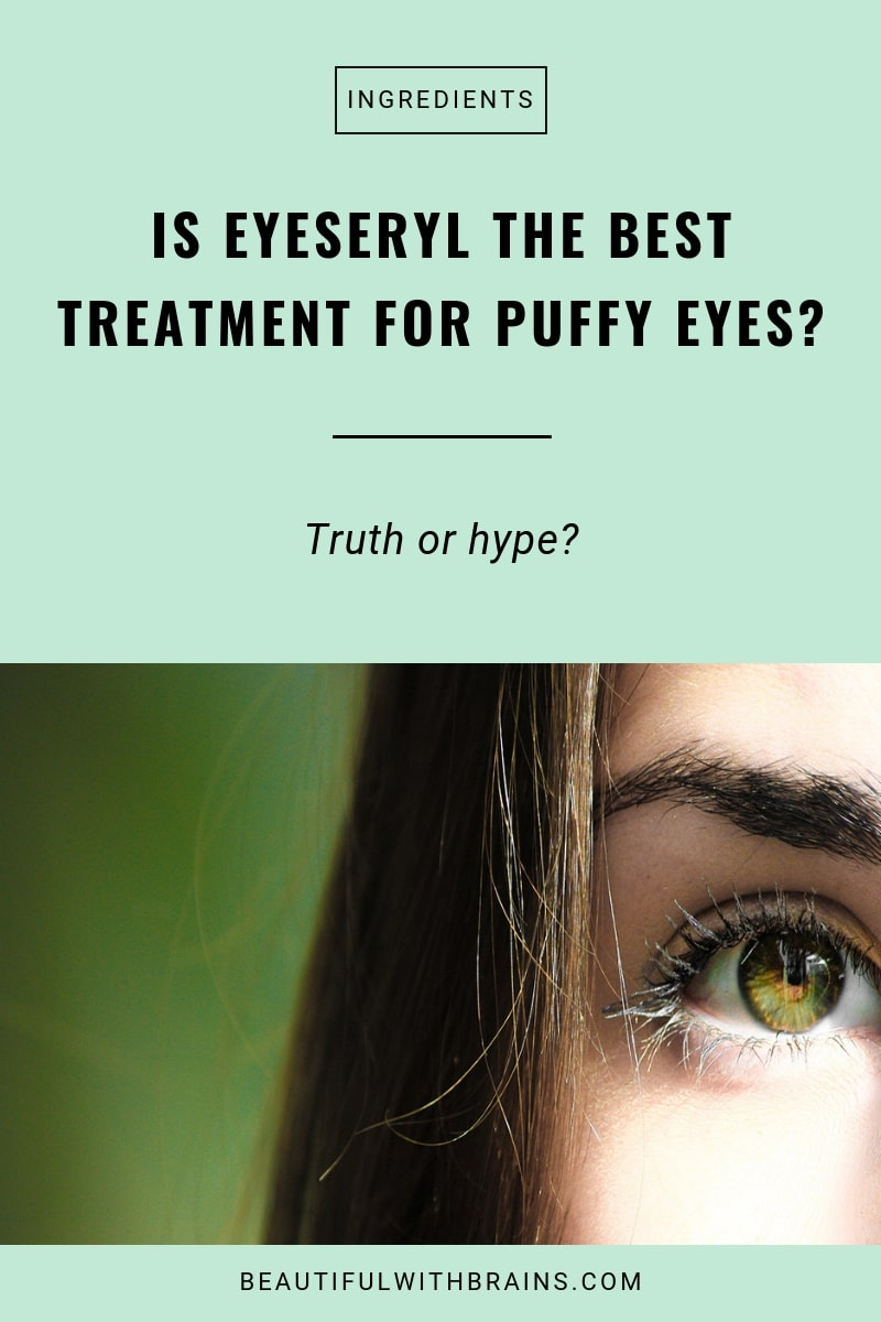 is eyeseryl an effective treatment for puffy eyes