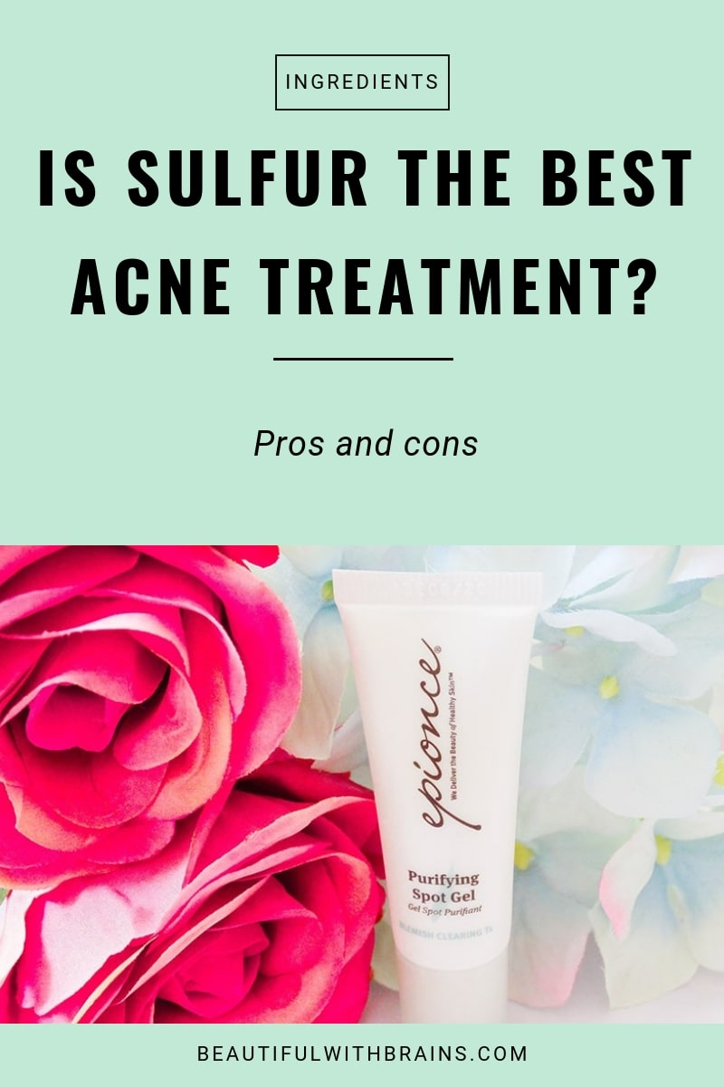 is sulfur the best acne treatment
