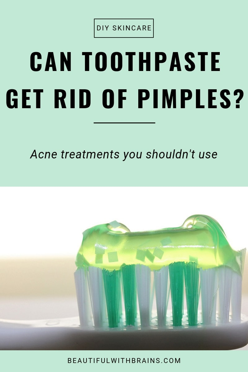 is toothpaste an effective acne treatment