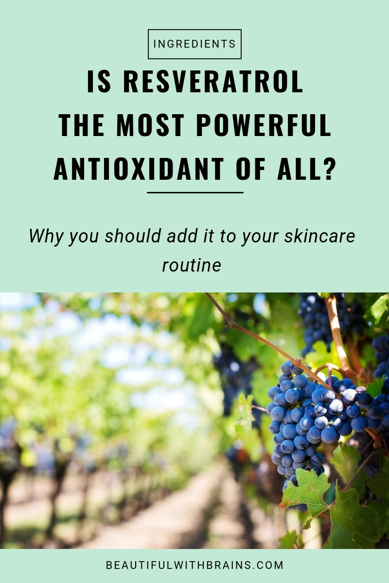 resveratrol skincare benefits