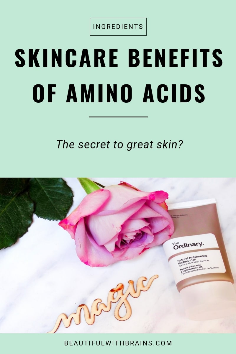 skincare benefits of amino acids