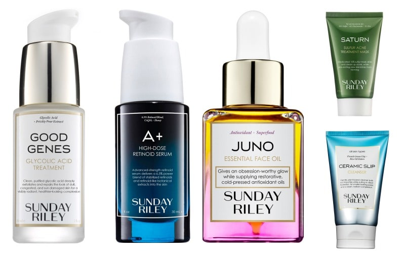 sunday riley best products