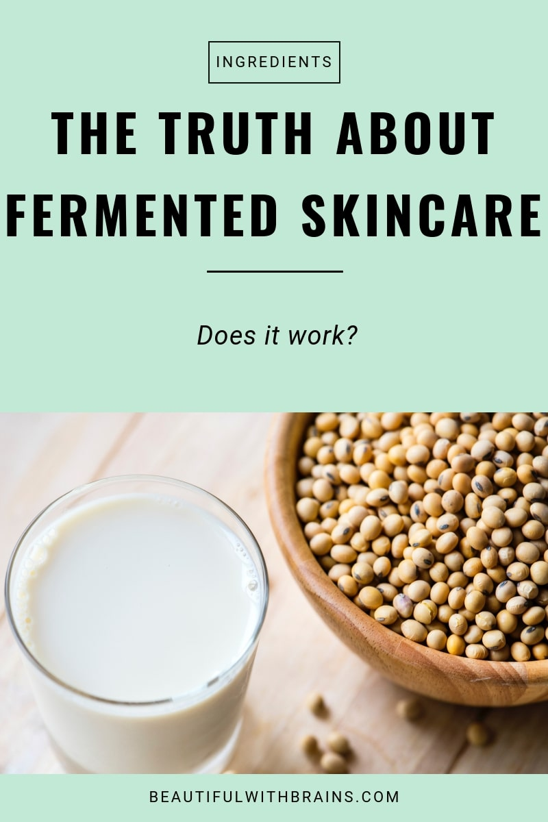 the truth about fermented skincare