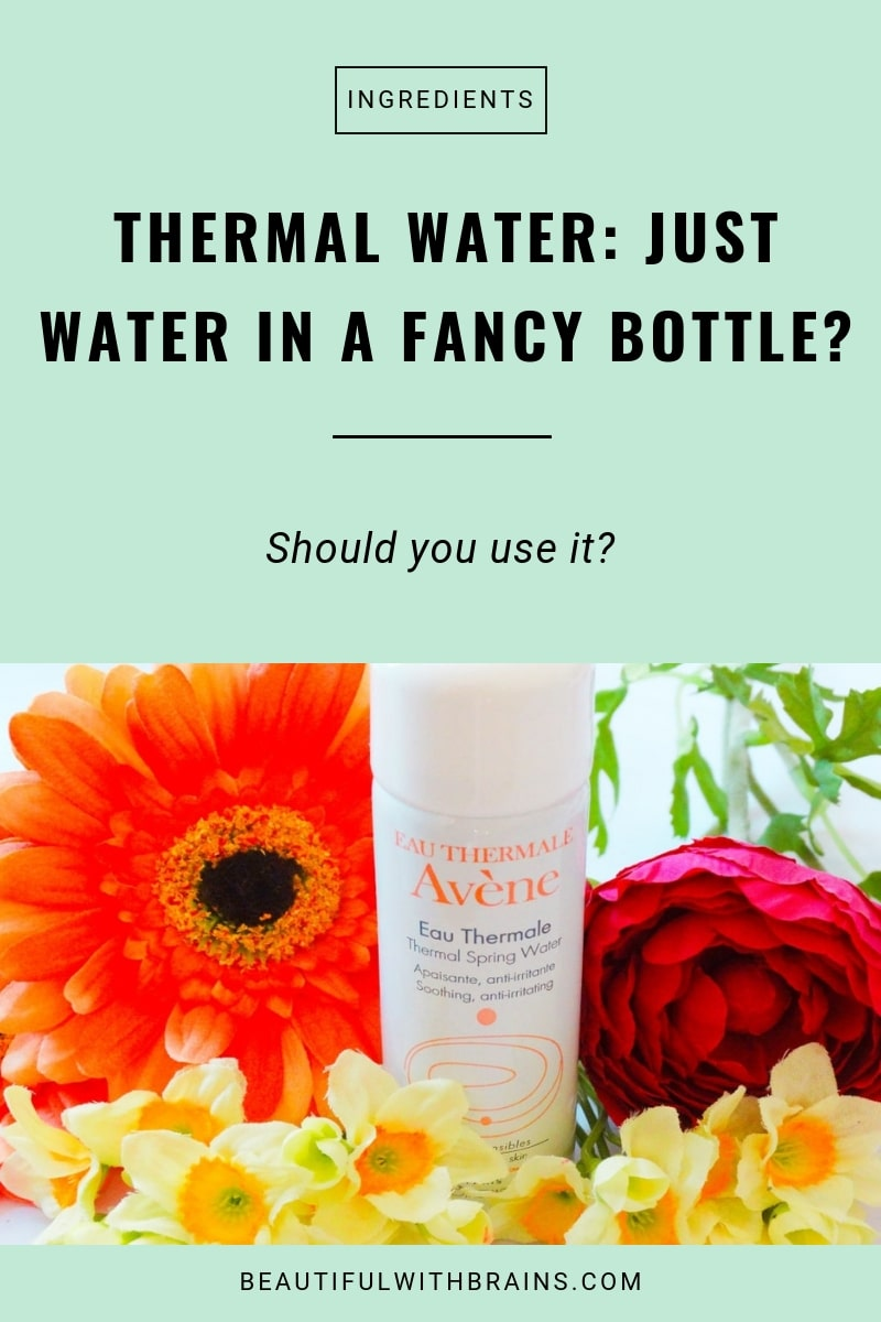 thermal water skincare benefits