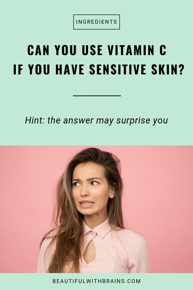 vitamin c safe for sensitive skin