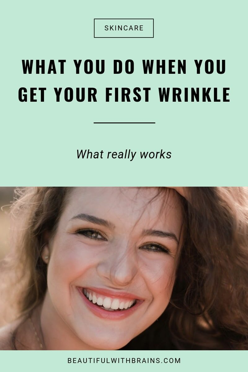 first wrinkle treatment