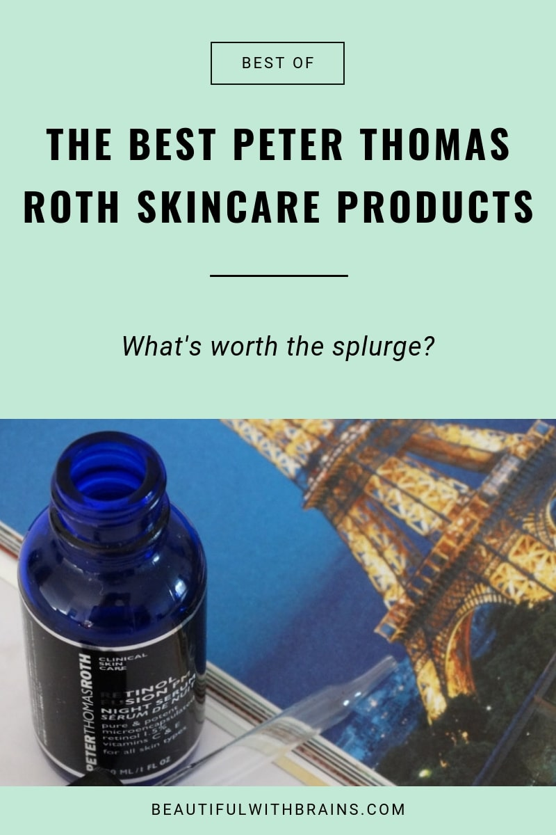the best peter thomas roth skincare products