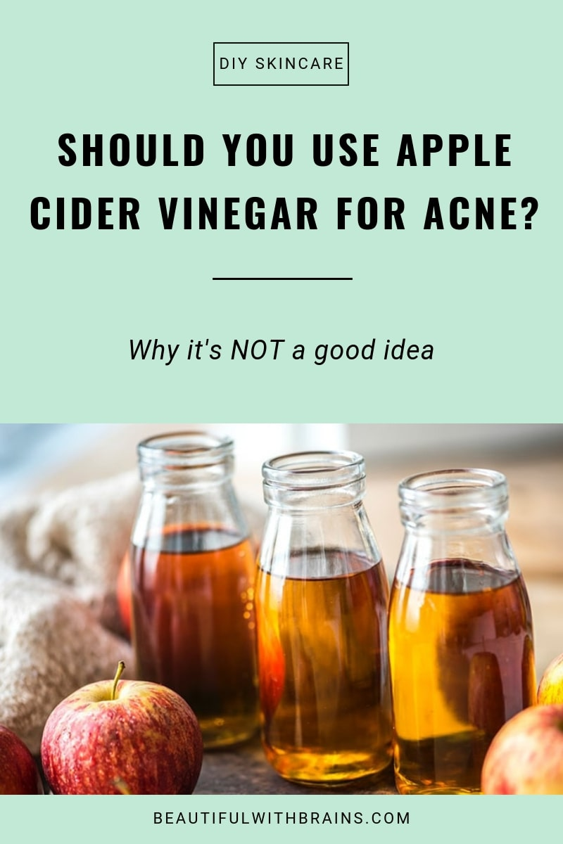 the truth about apple cider vinegar for acne