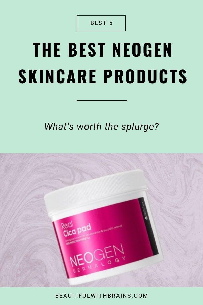 best neogen dermalogy skincare products