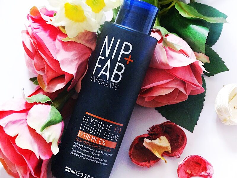 nip + fab glycolic fix liquid glow extreme 6% review