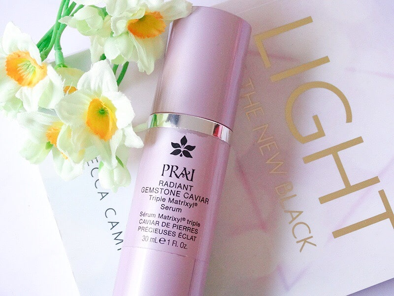 prai radiant gemstone caviar triple matrixyl serum review