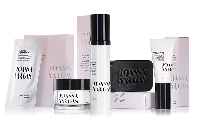Joanna Vargas skincare products