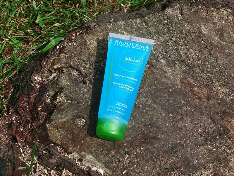 bioderma sebium purifying cleansing foaming gel review