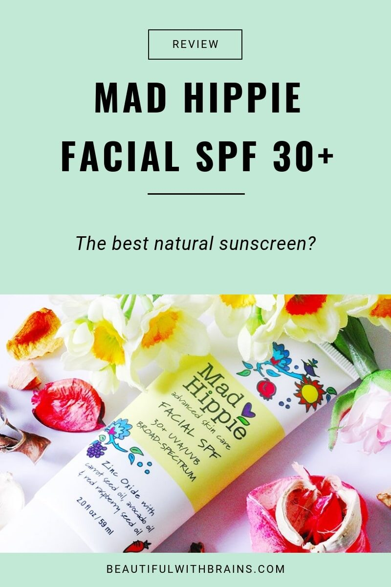 mad hippie facial spf30+ best natural sunscreen