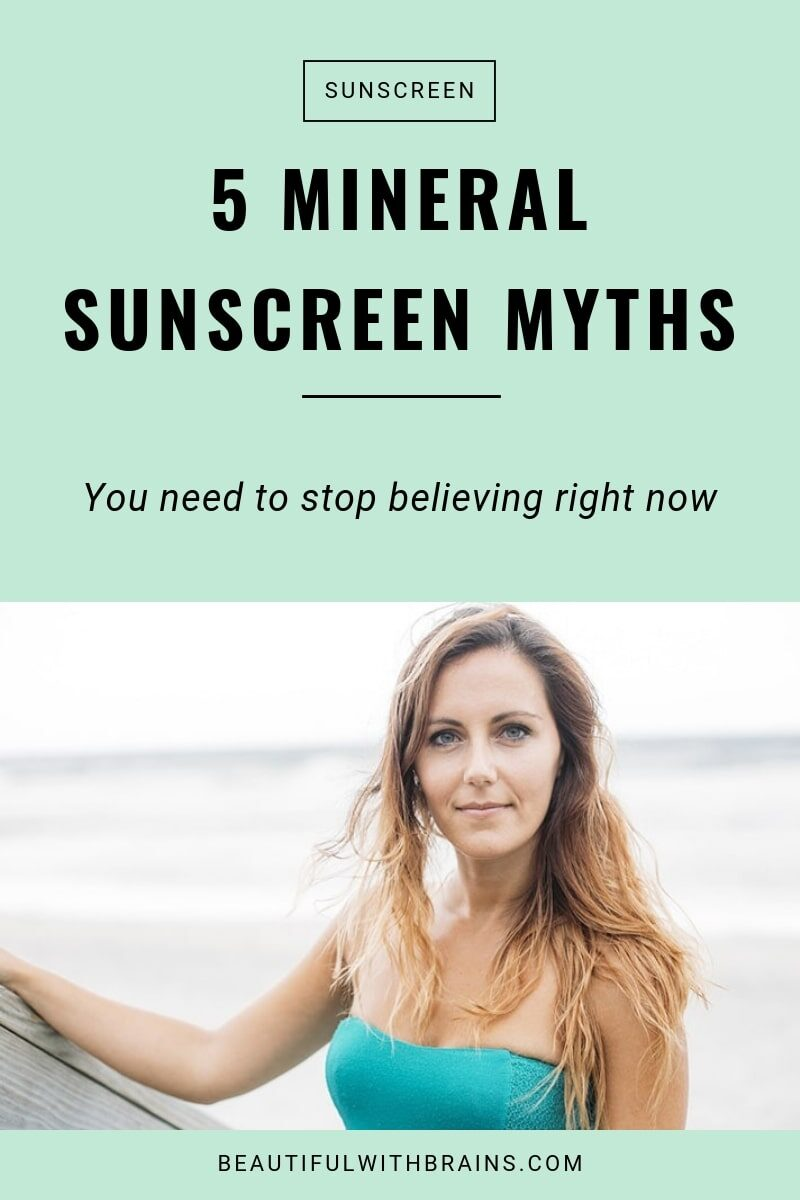 mineral sunscreen myths you need to stop believing