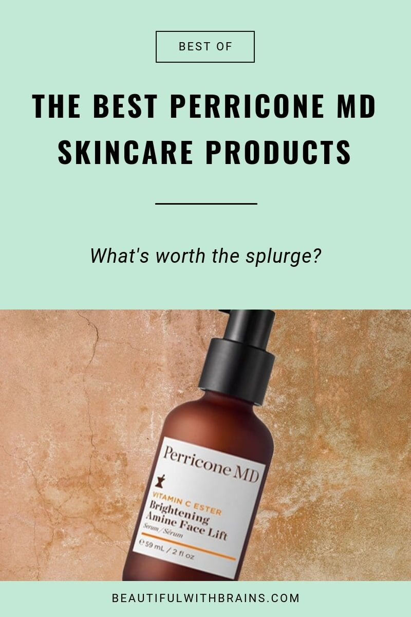 the best perricone md products
