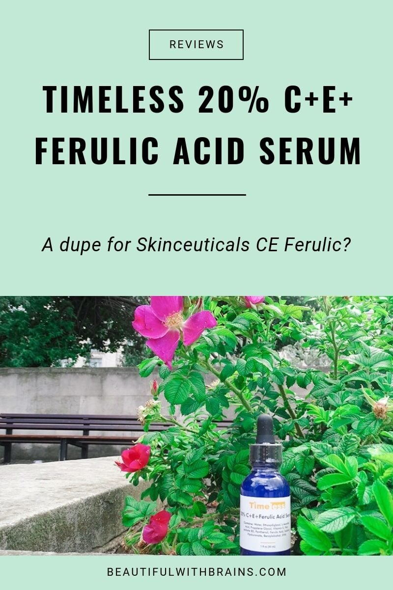 timeless 20% C+E+Ferulic Aci Serum review
