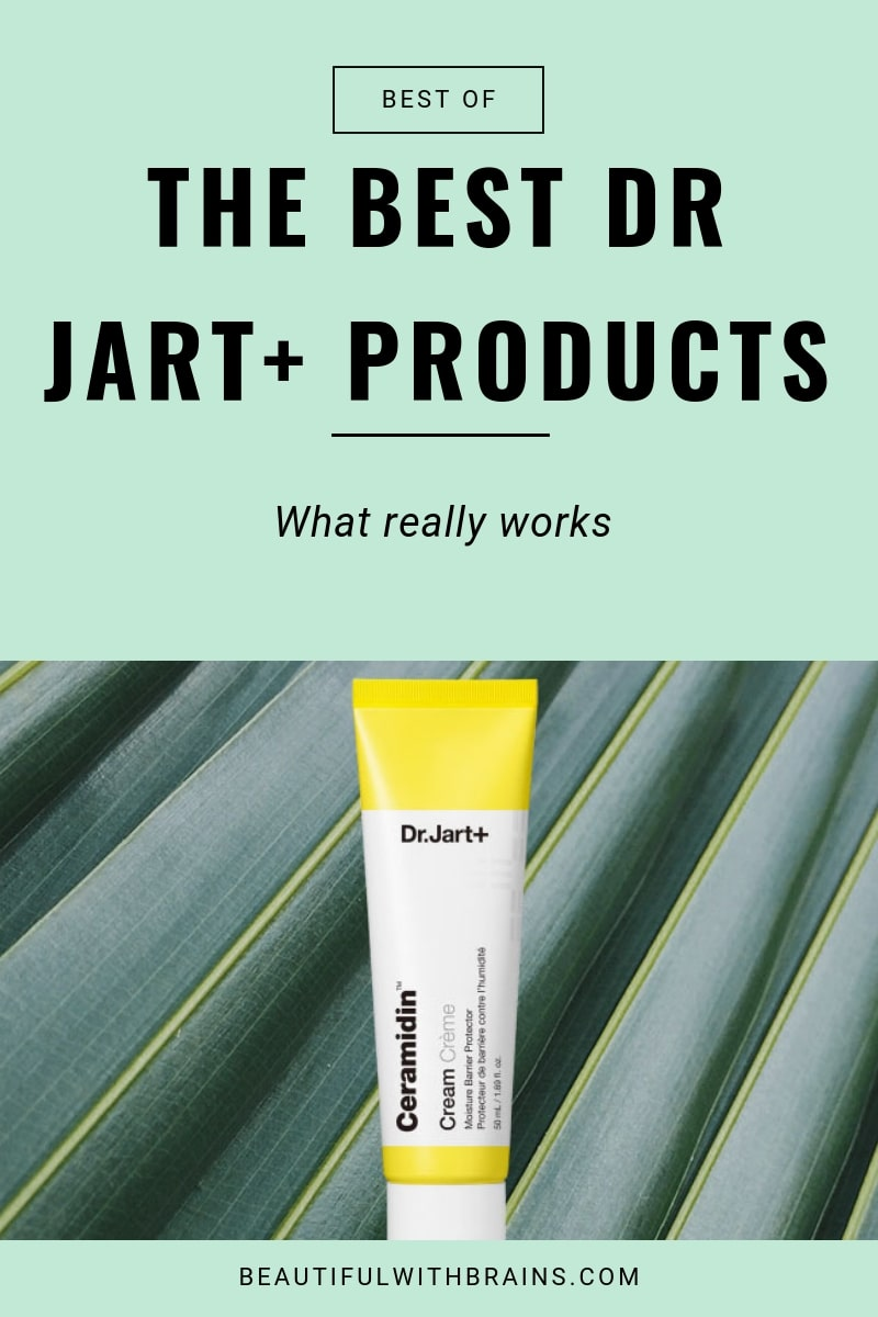 best dr jart skincare products