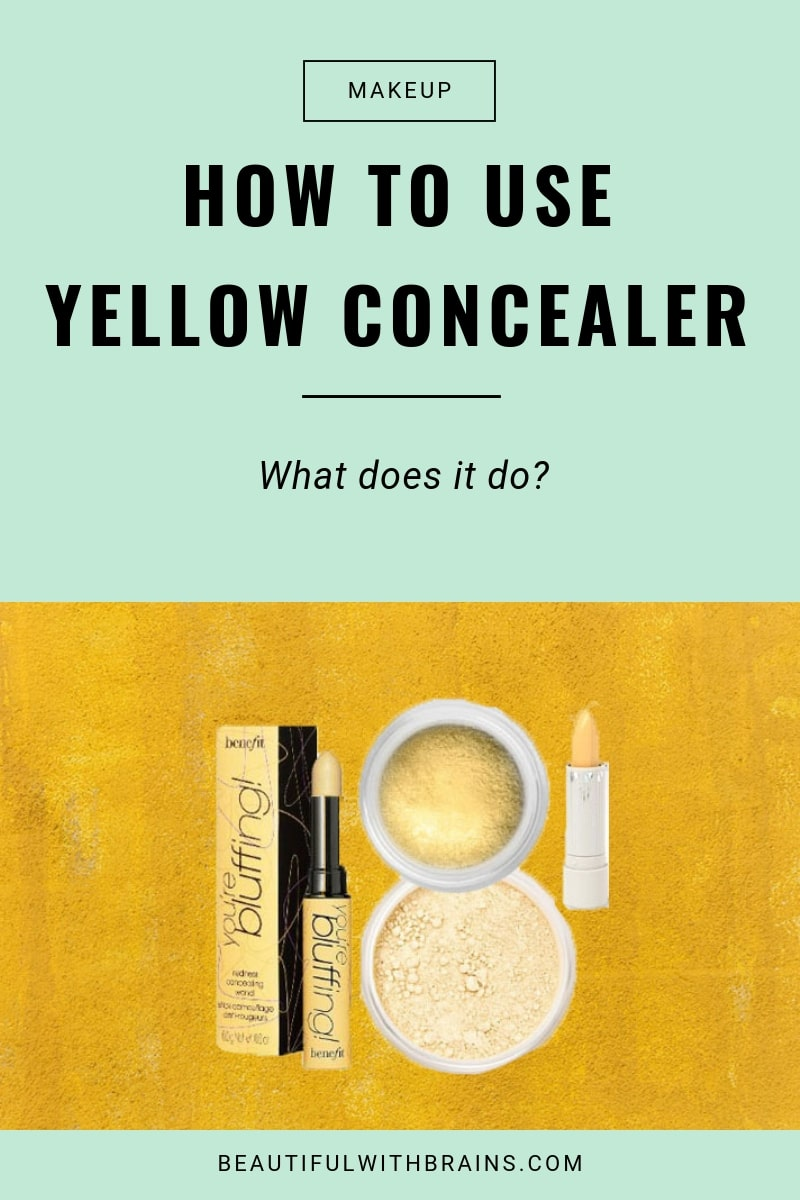 guide to yellow concealer