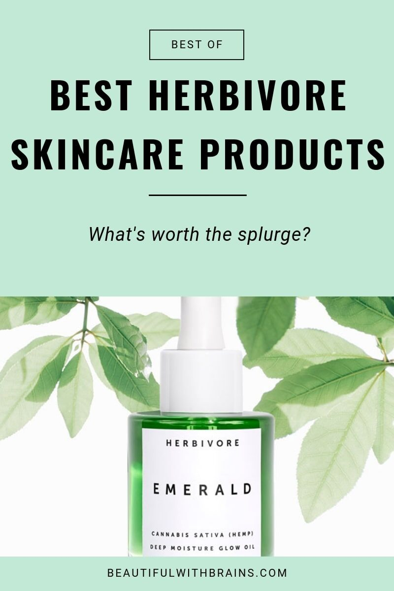 best herbivore botanicals skincare products