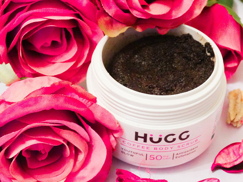 hugg coffee body scrub