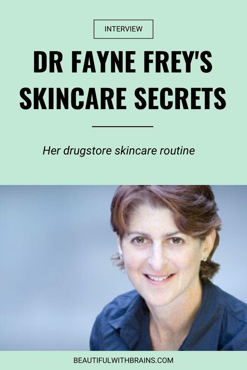 dr fayne frey skincare secrets