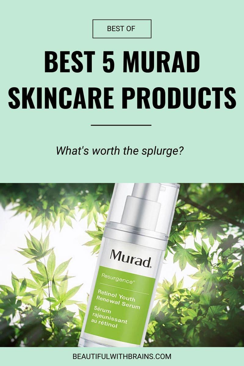 5 best murad skincare products