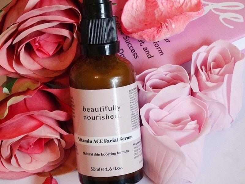 beautifully nourished vitamin ace facial serum