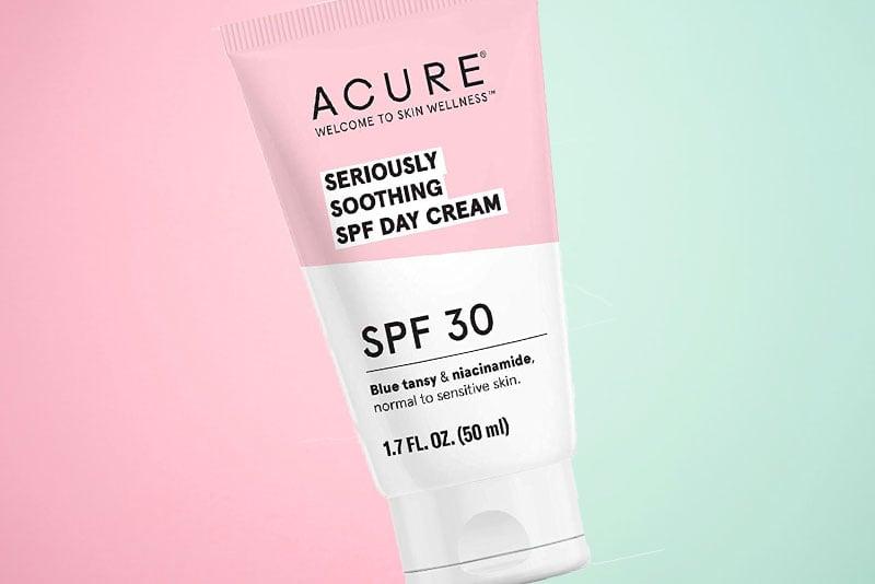 ok acure seriously soothing skincare range