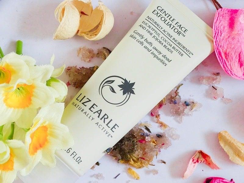 review Liz Earle gentle face exfoliator