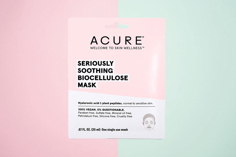 worst acure seriously soothing skincare products