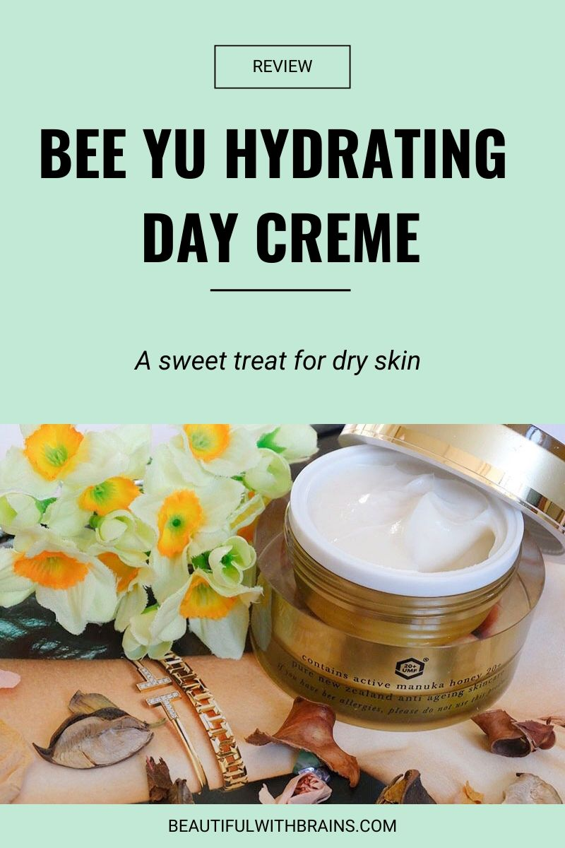 bee yu hydrating day creme review